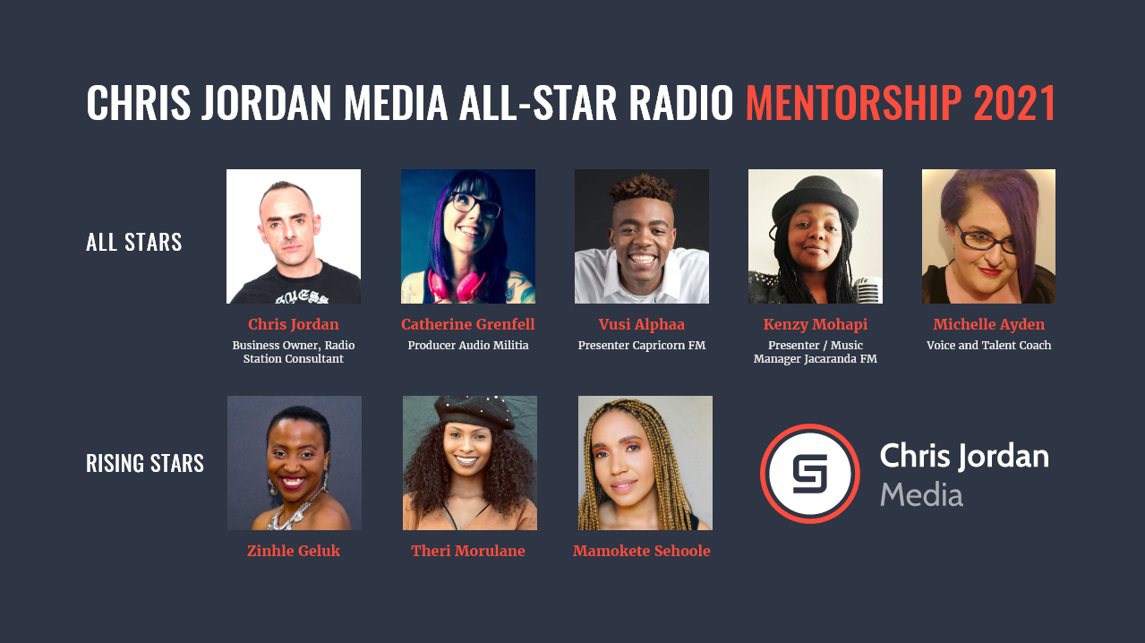 Chris Jordan Media All-Star Radio Mentorship 2021